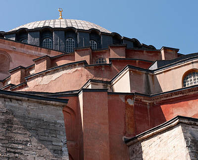 Hagia Sophia Angles 01 Print by Rick Piper Photography
