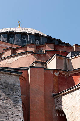 Hagia Sophia Angles 02 Print by Rick Piper Photography