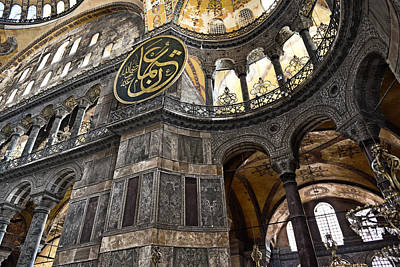 Hagia Sophia Print by Brandon Bourdages