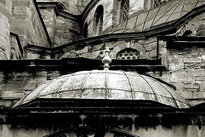 Photograph - Hagia Sophia Detail  by Roger Passman
