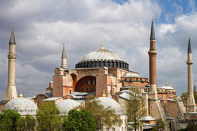Photograph - Hagia Sophia Istanbul by For Ninety One Days