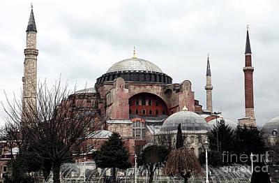 Hagia Sophia Art Print by John Rizzuto