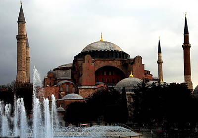 Photograph - Hagia Sophia Museum by Jacqueline M Lewis