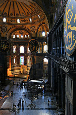 Medieval Temple Photograph - Hagia Sophia by Stephen Stookey