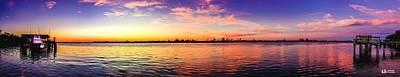 Photograph - Hagley Landing Sunset by Ed Roberts