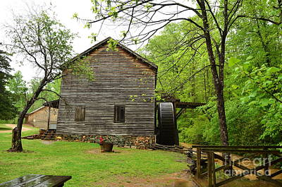 Photograph - Hagood Grist Mill by Bob Sample