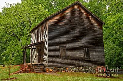 Photograph - Hagood Mill South Carolina by Adam Jewell