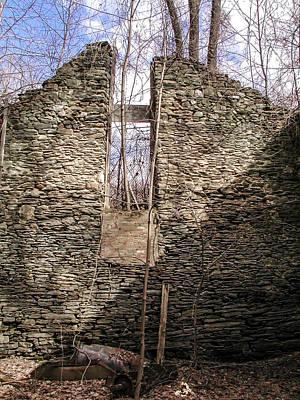 Hagy's Paper Mill Ruin - Interior Art Print