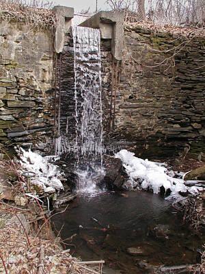 Hagy's Paper Mill Waterfall Art Print