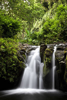 Photograph - Hahalawe Falls In Maui by Jenna Szerlag