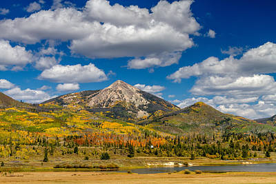 Hahn Peak And Steamboat Lake State Park Art Print