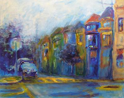 Painting - Haight-ashbury by Valerie Greene