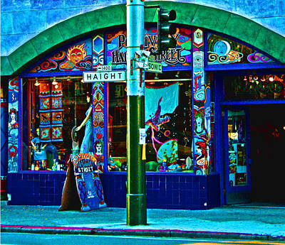 Photograph - Haight Street by Joseph Coulombe