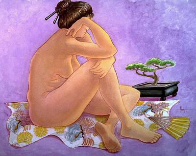 Painting - Haiku by Jack Adams