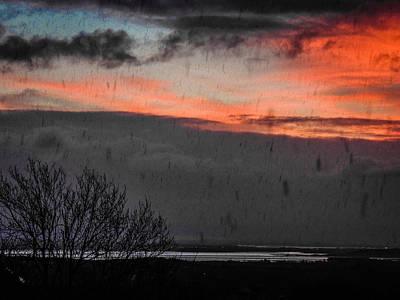 Photograph - Hail Storm At Sunrise by James Truett
