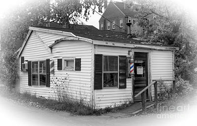 Photograph - Barber Shop by David Birchall