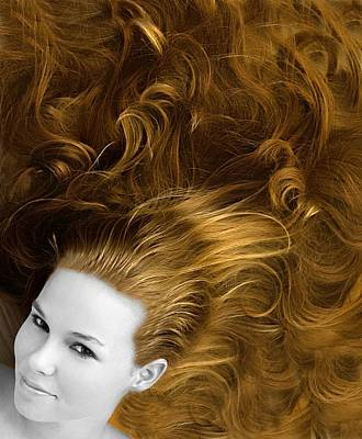 Photograph - Hairdusa by Richard Thomas