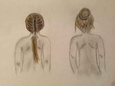 Painting - Hairstyles by Oasis Tone