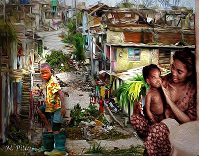 Haiti On My Mind Art Print