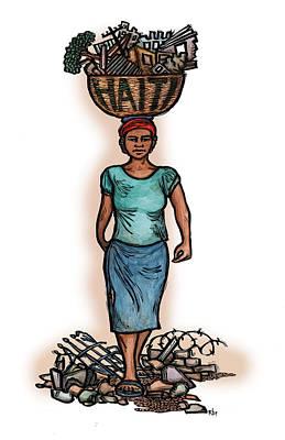 Haiti Art Print by Ricardo Levins Morales