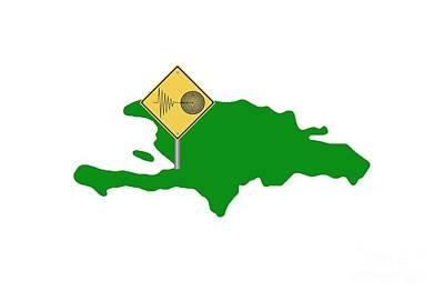 Haiti Tremor Art Print
