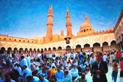 Hajj Painting - Hajj by MotionAge Designs