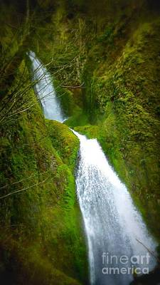 Photograph - Hakeena Falls Long by Susan Garren