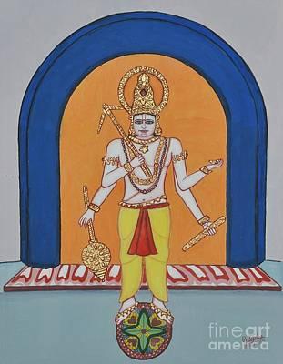 Incarnation Painting - Haladhara by Pratyasha Nithin