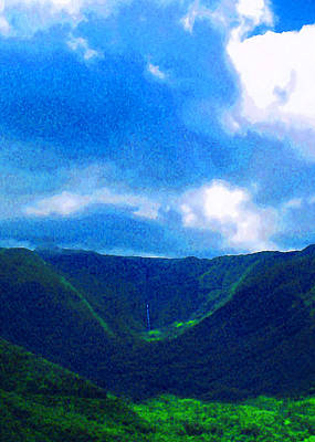 Moa Photograph - Halawa Valley by James Temple