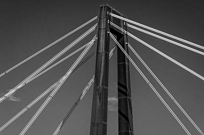 Hale Boggs Memorial Bridge Art Print by Andy Crawford