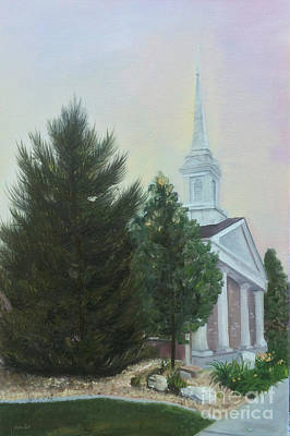 Painting - Hale Street Chapel by Jane Autry