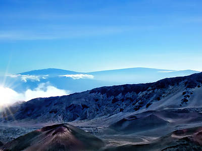 Photograph - Haleakala Crater 2 by Dawn Eshelman