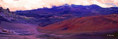 Volcano Photograph - Haleakala Crater by George Rossidis