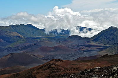 Photograph - Haleakala Crater In Maui by Kirsten Giving