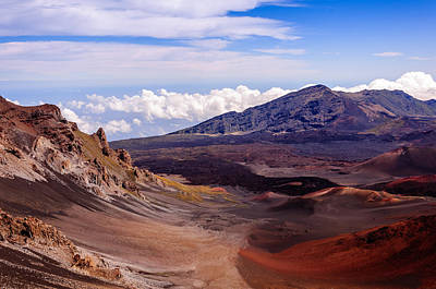 Photograph - Haleakala Crater by John Johnson