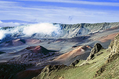 Haleakala Crater Art Print by Kelley King