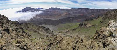 Photograph - Haleakala Crater Panorama by Brad Scott