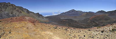 Haleakala Crater Art Print by Sami Sarkis