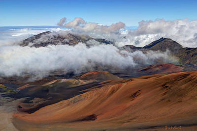 Haleakala Meaning House Of The Sun Art Print by Heidi Smith