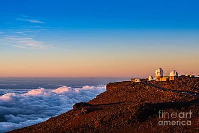 Animal Surreal - Haleakala Observatory at Sunrise in Maui. by Jamie Pham
