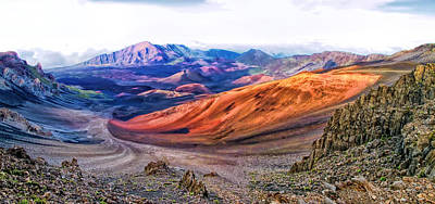 Photograph - Haleakala Panorama 5 by Dawn Eshelman