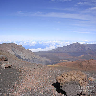 Photograph - Haleakala  Summit Maui Hawaii  by Sharon Mau
