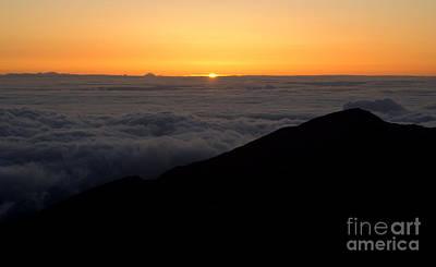 Haleakala Sunrise Print by Benjamin Reed