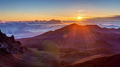 Photograph - Haleakala Sunrise Maui by Pierre Leclerc Photography