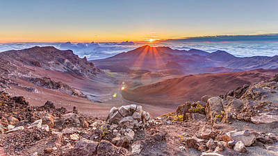 Photograph - Haleakala Sunrise  by Pierre Leclerc Photography