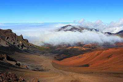 Haleakala Vista Art Print by Heidi Smith