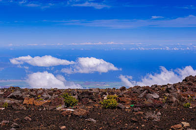 Photograph - Haleakula Crater by John Johnson