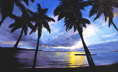 Haleiwa Sunset Original by Stacy Vosberg