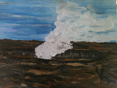 Painting - Halemaumau Crater by Clare Ventura