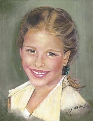 Haley  Art Print by Diane Strain